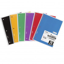 MEA05512 - Notebook Spiral Single 70 Sht Ct Subject in Note Books & Pads