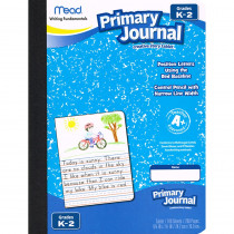 MEA09554 - Paper Primary Journal Early 100 Ct Creative Story Tablet in Handwriting Paper