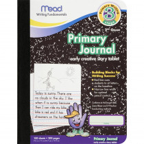 MEA09956 - Paper Primary Journal Early 100 Ct Creative Story Tablet in Handwriting Paper