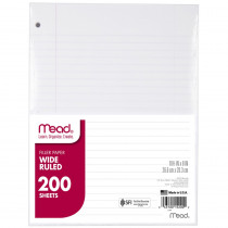 MEA15200 - Paper Filler Wm 10 1/2 X 8 200 Ct in Loose Leaf Paper