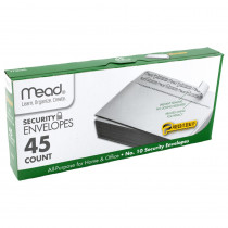 MEA75026 - Press It Seal It No10 45Ct Security Envelopes in Envelopes