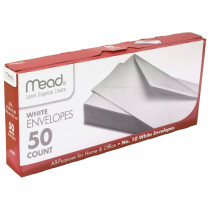 MEA75050 - Envelopes Plain 10Lb 50 Ct in Envelopes