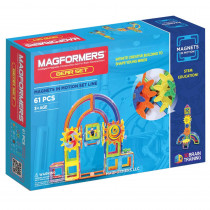 MGF63205 - Magnets In Motion 61Pc Gear Set in Blocks & Construction Play