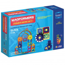 MGF63207 - Magnets In Motion 83Pc Power Set in Blocks & Construction Play