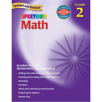 MGH0769636926 - Spectrum Math Gr 2 Starburst in Activity Books