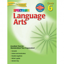 MGH0769653065 - Spectrum Language Arts Gr 6 in Language Skills