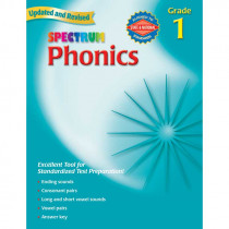 MGH076968291X - Spectrum Phonics Gr 1 in Phonics