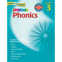 MGH0769682936 - Spectrum Phonics Gr 3 in Phonics