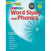 MGH0769682960 - Spectrum Word Study & Phonics Gr 6 in Word Skills