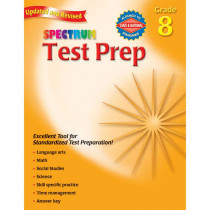 MGH0769686281 - Spectrum Test Prep Gr 8 in Cross-curriculum