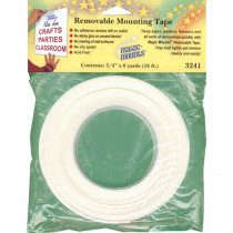 MIL3241 - Wall Mounting Tabs 3/4 X 6 Yards in Adhesives