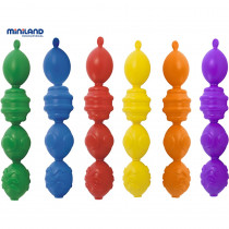 MLE27361 - Interlocking Pieces Assorted 24 Pcs Per Unit in Gross Motor Skills