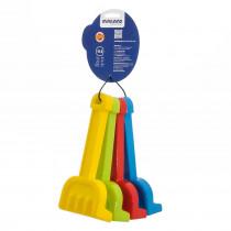 Rakes, Set of 4 - MLE29039 | Miniland Educational Corporation | Sand & Water