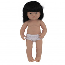 "Baby Doll 15 Asian Girl - MLE31056   Miniland Educational Corporation   Dolls"""