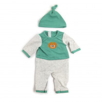 Doll Clothes, Cold Weather PJ'S - MLE31551 | Miniland Educational Corporation | Pretend & Play