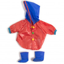 MLE31556 - Doll Clothes Rain Coat & Boots in Dolls