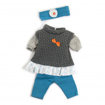 MLE31560 - Doll Clothes Grl Fall/Spring Outfit in Dolls