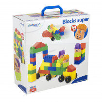 MLE32337 - Blocks Super 64 Pcs in Blocks & Construction Play