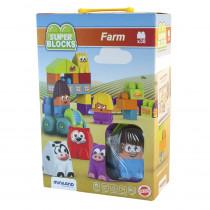 MLE32339 - Super Blocks Farm Set in General