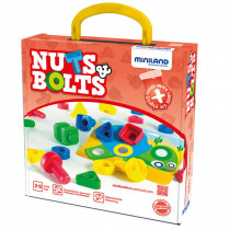MLE45303 - Nuts Bolts School Activity 24 Pc St in Activity Books & Kits