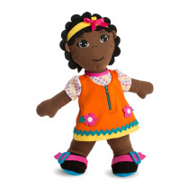 Multicultural Fastening Dolls, African Girl - MLE96318   Miniland Educational Corporation   Dolls