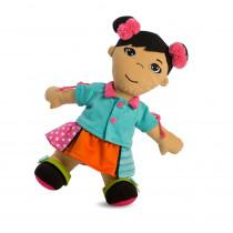 Multicultural Fastening Dolls, Asian Girl - MLE96319   Miniland Educational Corporation   Dolls