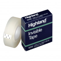MMM620034 - Tape Highland Invisible 3/4 X1296 in Tape & Tape Dispensers