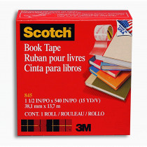 MMM84515 - 3M Scotch Bookbinding Tape 1 1/2V X 15 Yds in Tape & Tape Dispensers