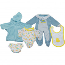 MTB1301 - Doll Clothes Set Of 3 Boy Outfits in Dolls