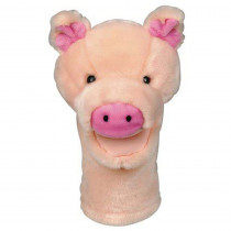 MTB200 - Plushpups Hand Puppet Pig in Puppets & Puppet Theaters
