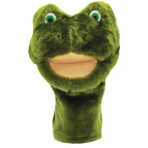 MTB205 - Plushpups Hand Puppet Frog in Puppets & Puppet Theaters