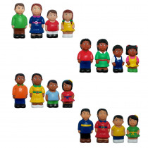 MTB624 - Multicultural Family 4 St Complete Figures in General