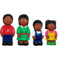 MTB626 - African-American Family Figure Set in General
