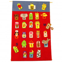 MTB737 - Alphabet Finger Puppets & Wall Chart in Puppets & Puppet Theaters