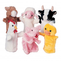MTC5021 - Farm Favorites Puppets Set Of 6 in Puppets & Puppet Theaters