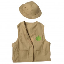 Nature Explorer Toddler Dress-Up, Vest & Hat - MTC612 | Marvel Education Company | Role Play