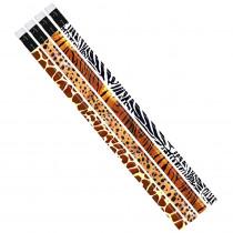 MUS1023D - Jungle Fever Assortment 12Pk Pencil in Pencils & Accessories