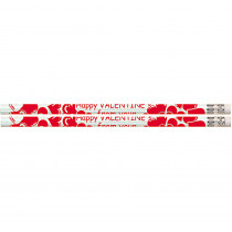 MUS1158D - Happy Valentine From Your Teacher 12Pk Motivational Fun Pencils in Pencils & Accessories