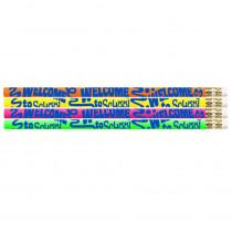 MUS1425D - Welcome To School 12Pk Motivational Fun Pencils in Pencils & Accessories