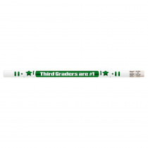 MUS2206D - 3Rd Graders Are #1 12Pk Motivational Fun Pencils in Pencils & Accessories