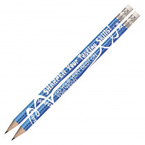 MUS2458D - Sharpen Your Testing Skills 12Pk Pencils Pre Sharpened in Pencils & Accessories