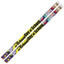 MUS2489D - 100Th Day Of School 12Pk Motivational Fun Pencils in Pencils & Accessories
