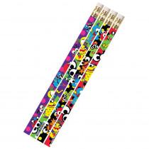 MUS2494D - Mega Monsters 1Dz Pencils in Pencils & Accessories