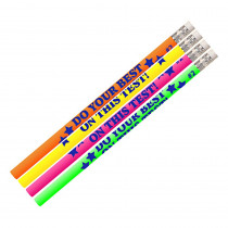 MUS2495D - Do Your Best On The Test 12Pk in Pencils & Accessories