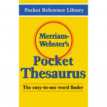 MW-524X - Merriam Websters Pocket Thesaurus Hardcover in Reference Books