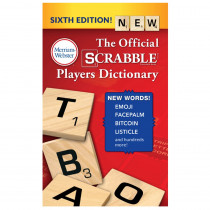 MW-5964 - Scrabble Players Dictionary 6Th Ed in Reference Books