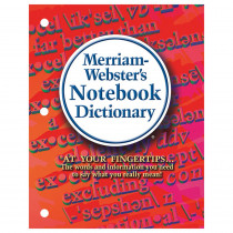 MW-6503 - Merriam Webster Notebook Dictionary in Reference Books