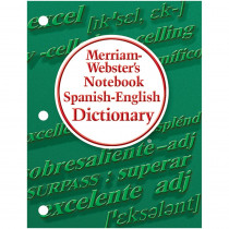 MW-6725 - Merriam Websters Notebook Spanish English Dictionary in Spanish Dictionary