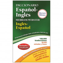 MW-8217 - Merriam Websters Diccionario Espanol Ingles in Spanish Dictionary