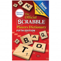 MW-8224 - Official Scrabble Player Dictionary 5Th Edition in Reference Books